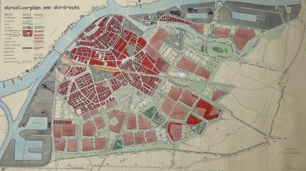 Structuurplan_Dordrecht_1951